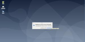brand new xfce desktop environment