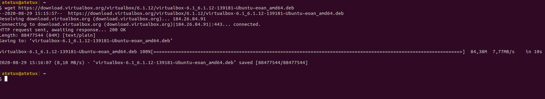 Download Virtualbox Ubuntu 20