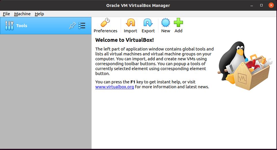VirtualBox 6.1 on Ubuntu 20