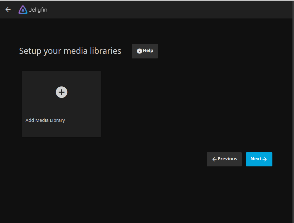 add new media library