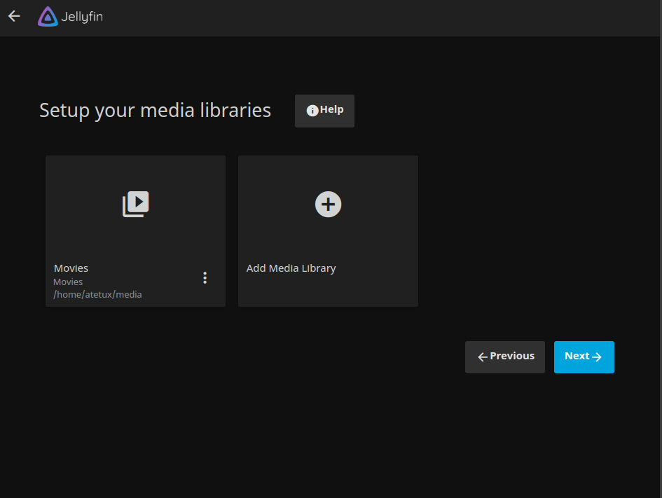 media library done