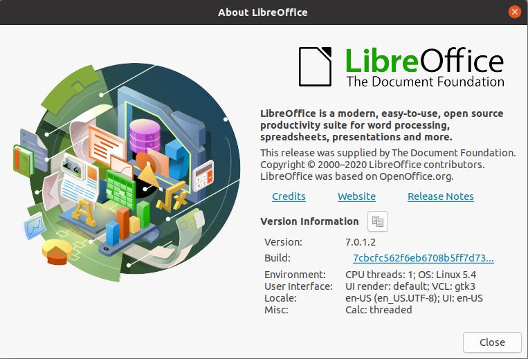 LibreOffice v7