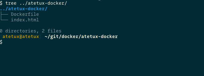 atetux docker files