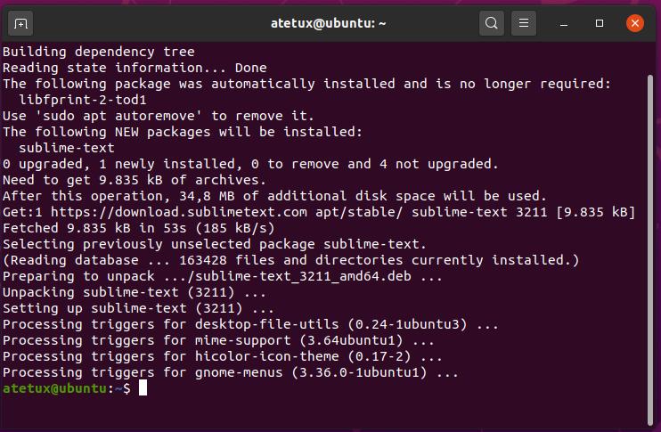 install sublimetext ubuntu