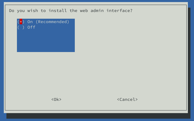 install web admin pihole