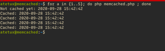 php memcached testing