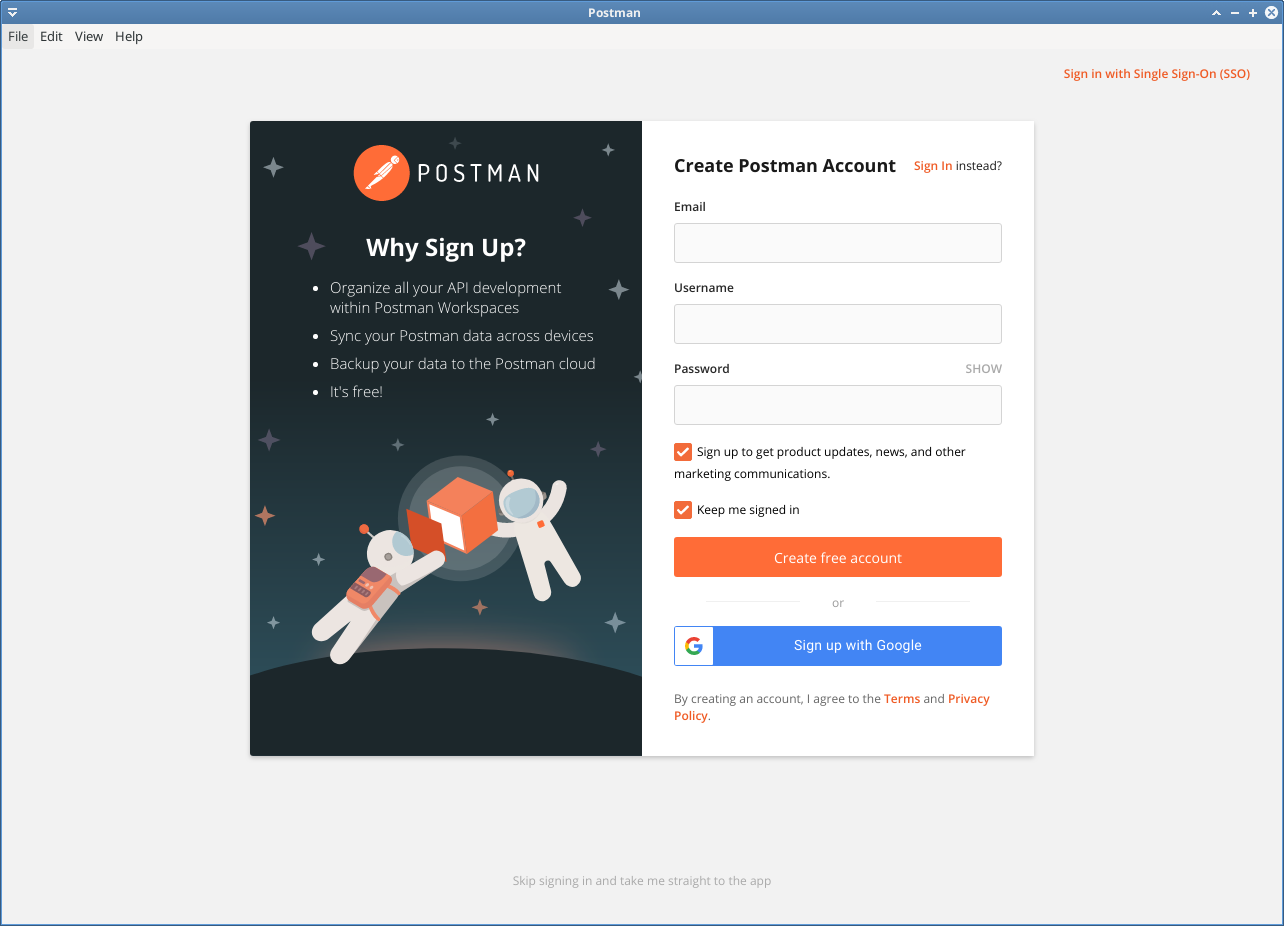 postman application